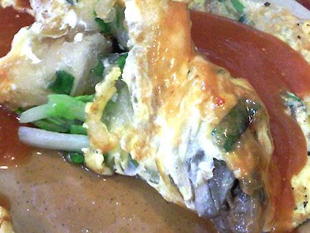 層次非常豐富的台灣必吃小食 - 蚵仔煎!