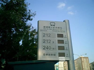 台北自助遊公車教學