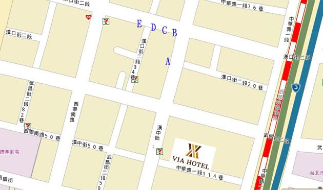 平價旅館 VIA HOTEL帶您到台灣西門町吃傳統早餐